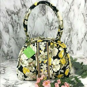 New! Vera Bradley Eloise Dogwood Handbags Purse
